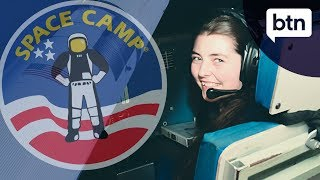 Rookie Report: Ella's visit to a US Space Camp - Behind the News