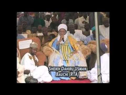 Sheikh  Dahiru Usman Bauchi-Interview in Niger