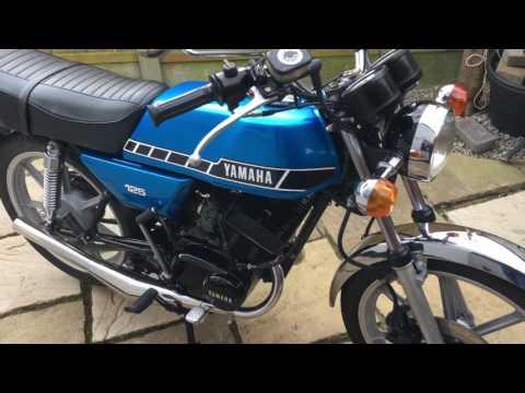 Yamaha RD125 DX