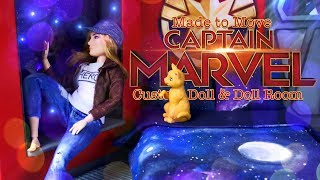 DIY - How to Make: Made to Move Captain Marvel PLUS  DIY Cap...