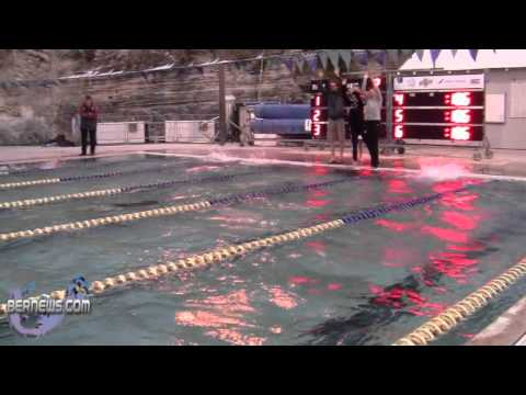 #2 Time Trial Swimmers From Bermuda & Mount Allison University Feb 25th 2011