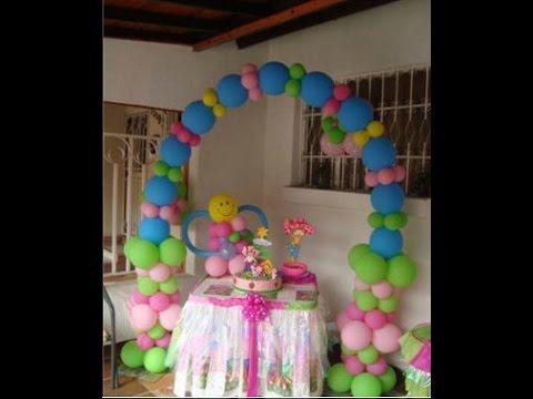 Como decorar fiestas infantiles con globos youtube - Decorar calabazas infantiles ...