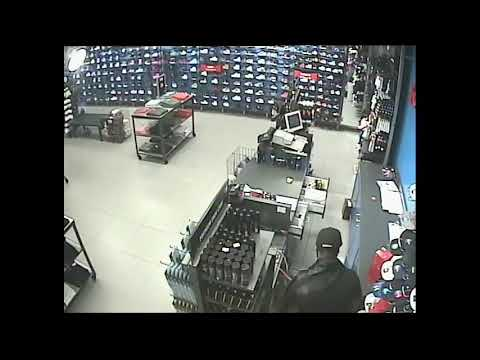 Ewing, NJ police searching for the robber in this video
