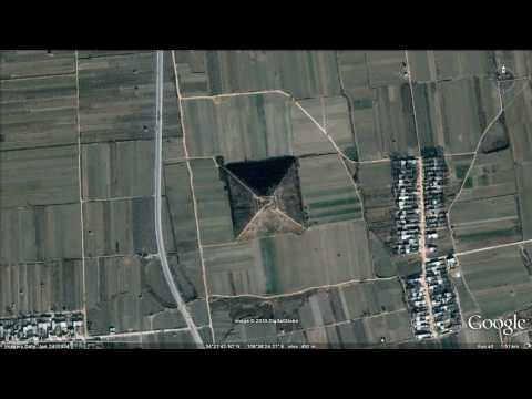 Pyramids in China - Widescreen HD version 2010  (Google Earth secrets)