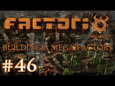 Factorio - Building a Mega Factory: Part 46 Building the new plastics factory