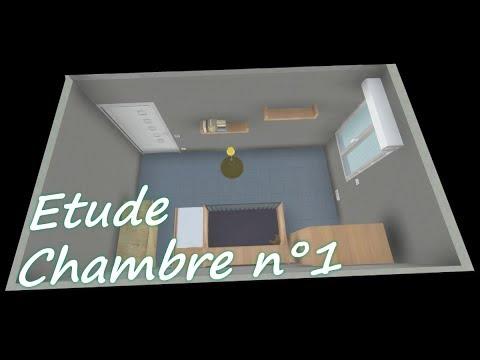La Chambre 1 (etude Installation électrique)  Youtube