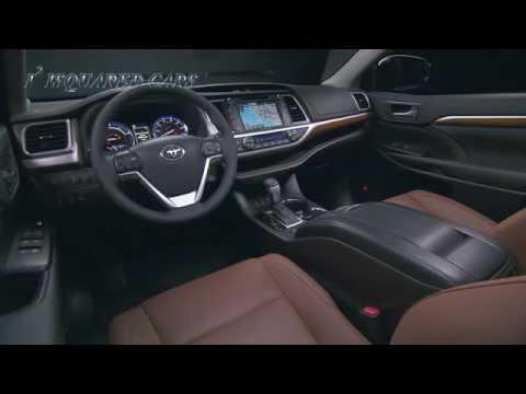 2017 Toyota Highlander Hybrid Limited Platinum Review Uk