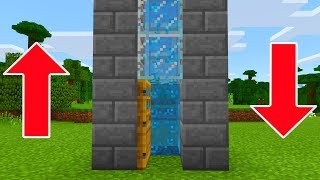 MCPE 1.5.0.4 BETA!!! -  WATER ELEVATOR - Minecraft Pocket Edition