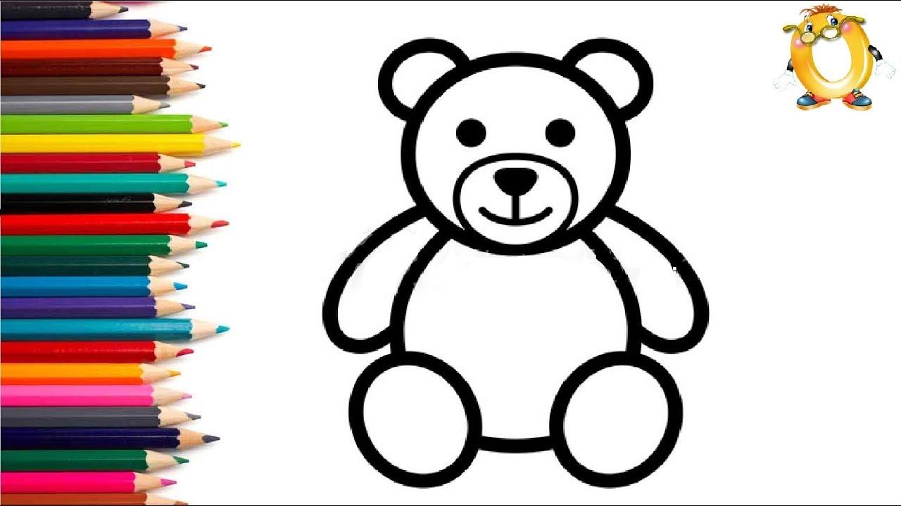 Раскраска для детей ЖИВОТНЫЕ. Мультик - Раскраска. Учим ...