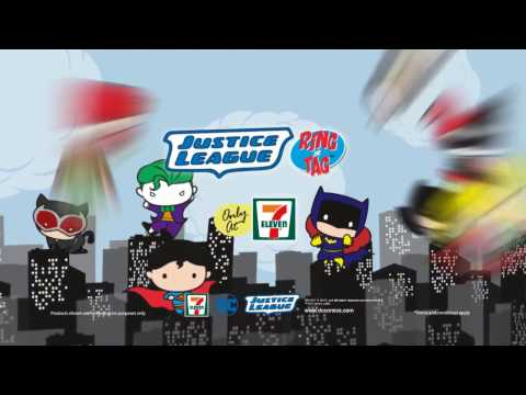 7-Eleven Malaysia Justice League Ring or Tag Collection