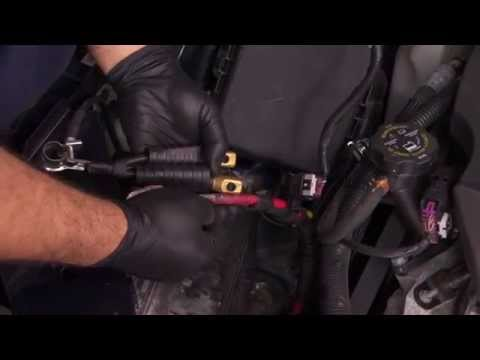 Battery Cable Repair Splice Installation - YouTube