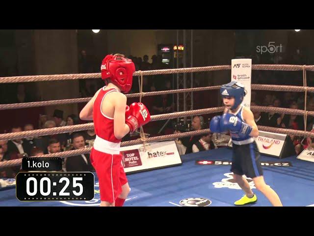 Boxing Lucerna 2019 - Adam MARCIN x Ondřej BURSA