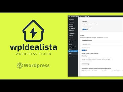 ⚡Plugin Idealista para WordPress