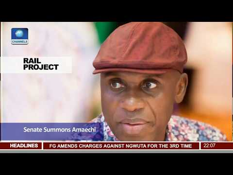 Rail Transportation Project: Lawmakers Want FG To Fix Railway Lines Nationwide