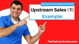 Upstream Sales(1)-Elimination of Unrealized Profit--Inventory|Advanced Accounting|CPA Exam FAR|Ch6P3