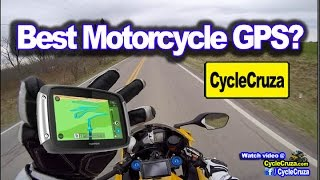Best Motorcycle GPS? Top 3 Motorcycle GPS Units | MotoVlog