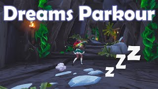 Dreams Parkour pour débutants Fortnite Creative code de carte dans la description