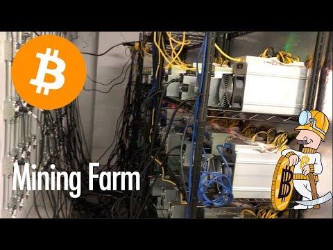 Inside a Bitcoin Mining Farm