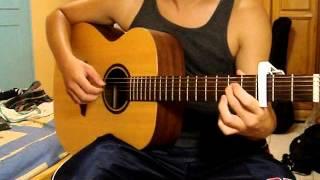 張震嶽-愛我別走 木吉他演奏