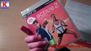 EA Sports Active 2 (PS3) Unboxing