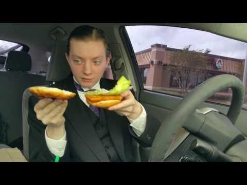 Wendy's Premium Cod Fillet Fish Sandwich - Food Review