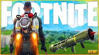 Guided Missile & Jetpacks Return To Fortnite! - New Update - (Fortnite: Battle Royale Gameplay)