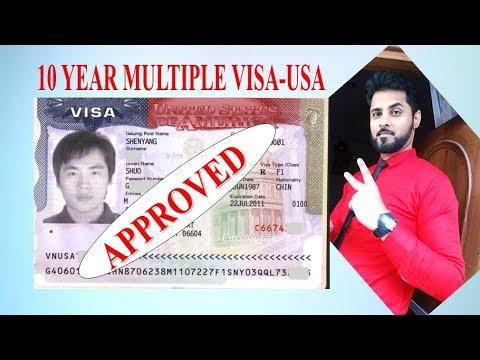 USA Tourist Visa-10 Year Multiple Visa-B1/B2-USA का टूरिस्ट वीसा केसे पायें