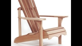 How to Build Wooden Patio Furniture - DIY Patio Furniture Plans - Benches - Tables - Chairs