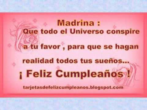 bfbaaec0c3 FELIZ CUMPLEAÑOS MADRINA!!!!!!! - YouTube