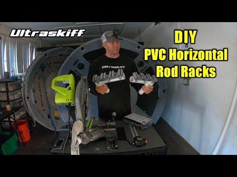 DIY PVC Horizontal Rod Rack Build