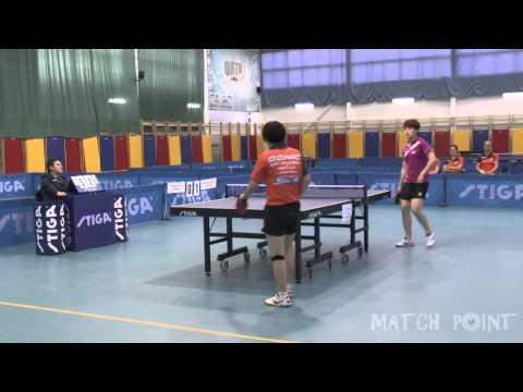 ZOU Yang - LIU Yalin. Russian Women's Premier League 2014-2015. Play-off. Final-1