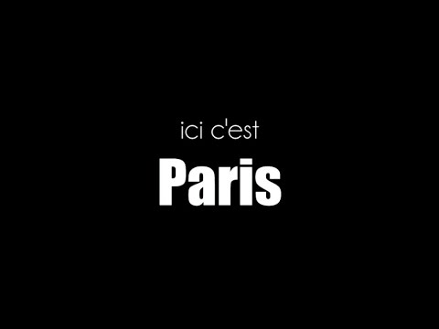 """ici C'est Paris"" ep-01 