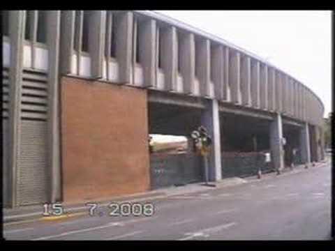 DECONSTRUCCIÓ DEL TAMBOR DE LA PLAÇA DE LES GLÒRIES 15 7 08