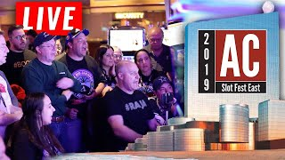 EPIC LIVE PLAY! Slot Fest East 2019 Begins with HUGE JACKPOTS! | The Big Jackpot