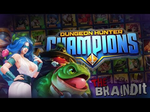 Dungeon Hunter Champions - ОБЗОР АРЕНЫ И БОИ 5 VS 5