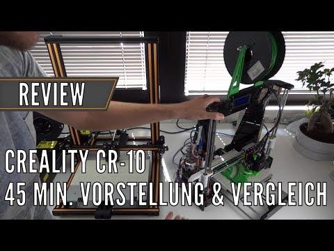 Creality CR-10 vs. Anet A8: 3D Drucker vorgestellt & im Vergleich // Test deutsch | China-Gadgets