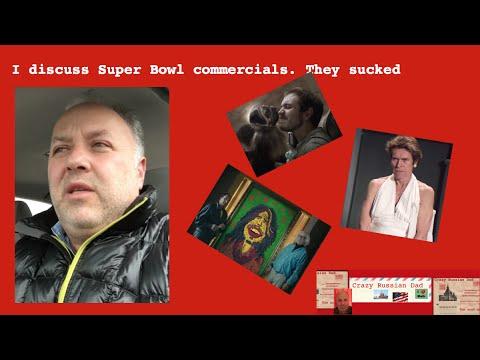 Super bowl commercials sucked