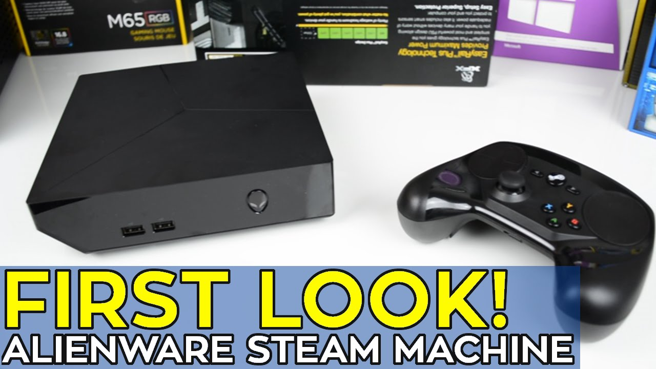Alienware Steam Machine: Factory Restore - YouTube
