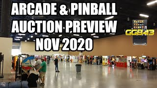 Arcade Pinball Vending Claw Machine Coin Op Auction Preview Sat Nov 14 2020 Tennessee