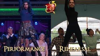 Descendants 2 (Descendientes 2) | Wąys To Be Wicked | Performance Vs Rehearsal | Descendants 3