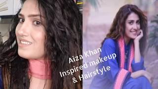 Aiza Khan inspired Makeup & Hairstyle From Drama yariyaan   #aizakhan #yariyaan #makeup