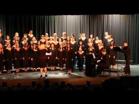 Carlisle High School Choir  Afton Water  March 9, 2014