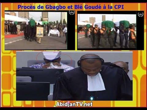 1ère p. CPI-5 Oct. 2017: Blé Goudé quitte la salle d'audience en pleure après une vidéo