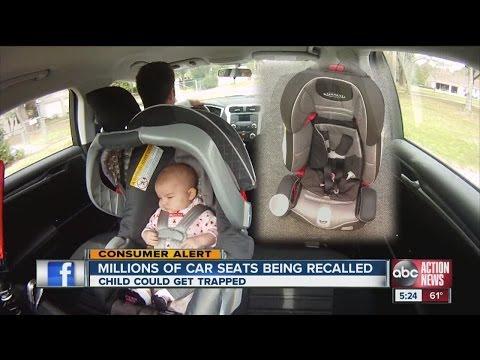 Company recalls millions of car seats
