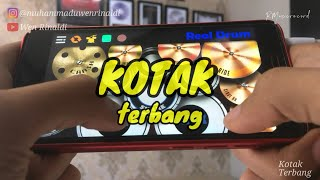 TERBANG - KOTAK | REAL DRUM COVER