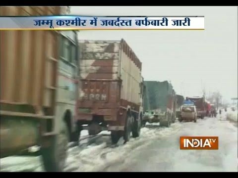 Jammu-Srinagar Highway Closed Due to Heavy Snowfall