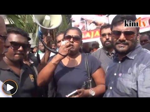 'Rajapaksa, kamu hanya layak di bawah tapak kaki saya!'