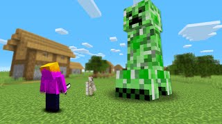 Minecraft, But Mobs Are Random Sizes...
