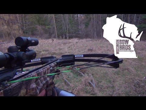 Wisconsin BowBros Crossbow Hunt – Self Filmed!