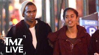 Does Malia Obama Have A New BF?   TMZ Live